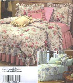 A Romantic Bedroom Retreat with Rowan & FreeSpirit Fabrics