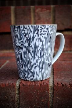 You could do this with just sharpies and a mug from the dollar store