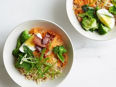 Bacon and Broccoli Rice Bowl Recipe : Food Network Kitchens : Food Network - FoodNetwork.com