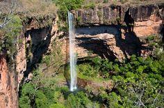 Cachoeira do Maribondo - MT - Brasil