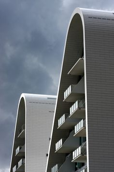 The Wave, Vejle - Henning Larsen architects.
