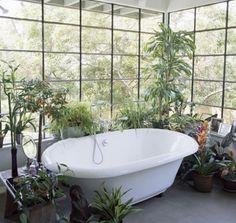 Ambientes inusitados podem criar espaços interessantes.