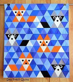 creature quilt