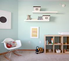 montessori babys room | outstanding montessori playrooms u amp nurseries disney baby Aqua wall ...