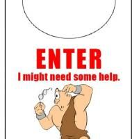 Free and Fun Door Knob Hanger!