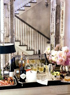 Splendid Sass: BAR CARTS FOR THE PERFECT TOAST