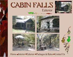 Rustic Cabin at Cabin Falls, Madison, IN