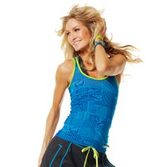Funk-It-Up Racerback | Zumba Fitness Shop  #newcollection #zumbawear #zwag