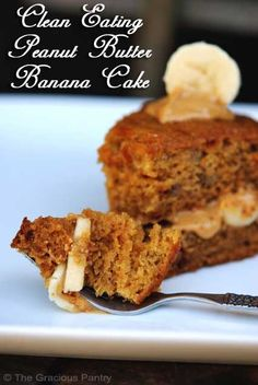 Clean Eating Desserts peanut butter banana