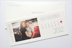 Love the idea for a Save the Date