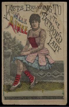 Tattooed Lady, 1880