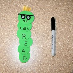 Book worm bookmark-for mini market unit