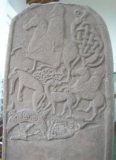 pictish stone detail