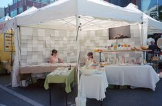 two in one, great simple booth craft fair, craft show booths, craft booth layout