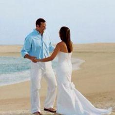 Option 1 for beach wedding attire beach weddings