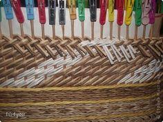 Мастер-класс Плетение МК закрытия послойного плетения Трубочки бумажные фото 12