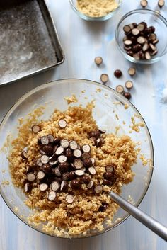 Salty and Malty Brown Butter Rice Krispy Treats