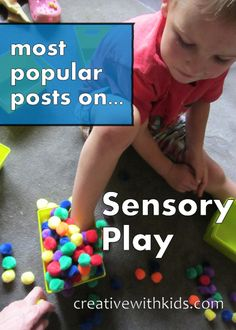 Our children come into this world wired to find out about their surroundings.  By providing sensory experiences we enhance their development, and often help them regulate their emotions by giving their growing brains exactly what they are craving.  I find it is much easier to parent when we learn about some of these engaging sensory activities for our kids.