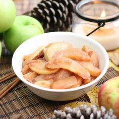 Warm Sauteed Cinnamon Apples #recipe #sweets