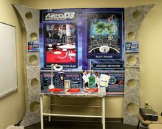 Styrofoam faux command center- VBS 2014 - Lifeway's AgencyD3 - PROPS