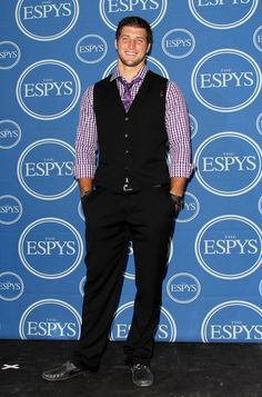 Tim Tebow stylin' at the ESPYS