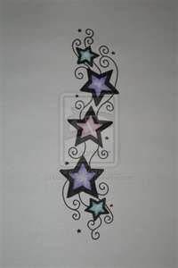 Tall Star Tattoo By MadeByJanine On DeviantART   ON wrist??