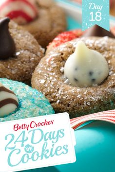Holiday Blossom Cookies Recipe from our friends at Betty Crocker