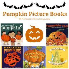 Kids Pumpkin Picture Books for Halloween