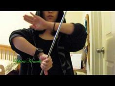 Baton Twirling Tutorial: Double Wrist Roll