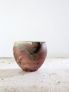 Vintage Desert Pottery / Garden of the Gods Vase