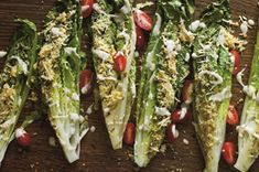 Crispy Grilled Caesar Salad recipe - Serve will grilled chicken as a special extra.  #FreshTake