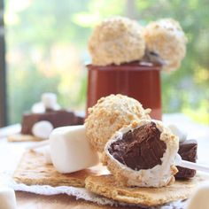 S'mores Fudge Pops