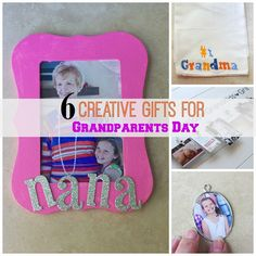 6 creative DIY gifts for grandparents day