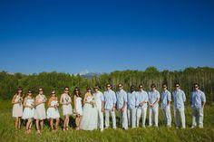 wedding parties, groom style, bridesmaid shoes, casual groomsmen, bridal parties, summer weddings, groom attire, blues, summer groomsmen attire
