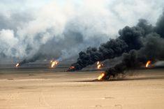 Desert Storm Oil Fires in Kuwait