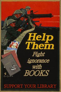 Fight Ignorance with Books