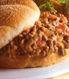 Velveeta Salsa Joe Sandwich