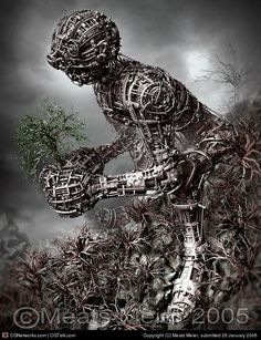 Title: The Last Of The Leaves |  Artist: Meats Meier |  Country: United States |  Software: ZBrush repinned by www.BlickeDeeler.de