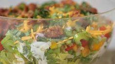 Easy, Healthy Seven-Layer Salad Recipe