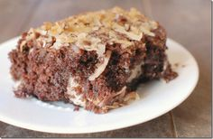 german chocolate cake with a twist