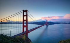 Golden Gate Moon by Jim Boud on Flickr.