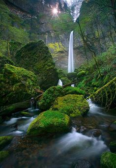 Elowah Falls marcadamus.com