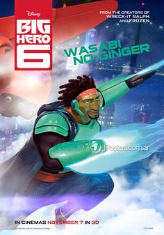 Big Hero 6 Movie Characters | Six Character Posters For Big Hero 6 ~ Galactic News One - Home Of The ...