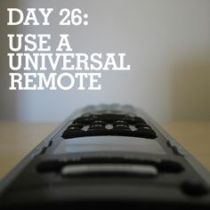 How to Buy (and Use) a Universal Remote