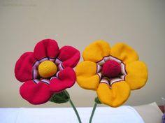 Flores con alambre