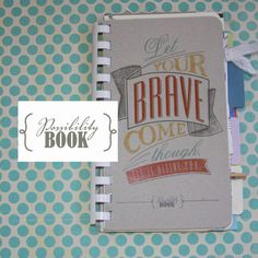 The Possibility Book- such an amazing idea! I love this! Great for graduation gifts . . .