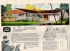 1959 Starlighter home ad | Via: SportSuburban - http://www.flickr.com/photos/42353480@N02