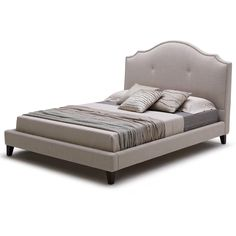 Montelena Upholstered Platform Bed by Humble Abode Signature