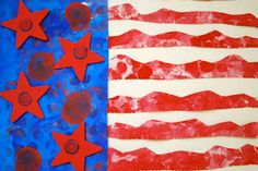 Interpretive American Flags
