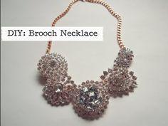 VIDEO: Brooch Necklace